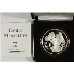 1 TROY OZ .999 FINE SILVER PROOF ROUND THE SEAL OF