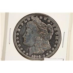1895-O MORGAN SILVER DOLLAR POLISHED