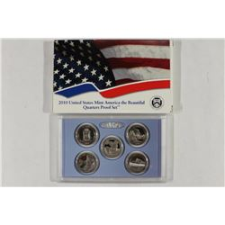 2010 US AMERICA THE BEAUTIFUL QUARTERS PF SET