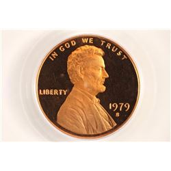 1979-S TYPE 2 LINCOLN CENT PCGS PR68RD DCAM
