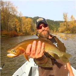 IDAHO FLY FISHING WITH LESSON (COEUR D' ALENE RIVER )