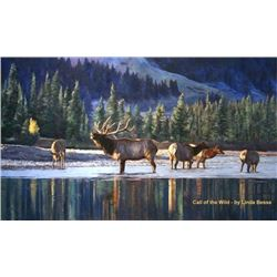 """CALL OF THE WILD"" ORIGINAL PAINTING BY LINDA BESSE"