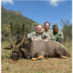 South Africa - 7 Day Nyala Hunt with Hotfire Safaris