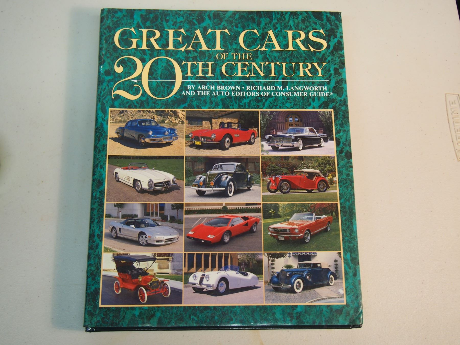 Great Cars Of The 20th Century book, 414 Pages