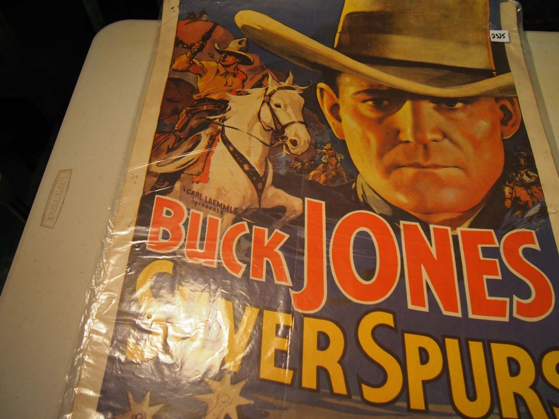 buck jones in �silver spurs� movie poster portal