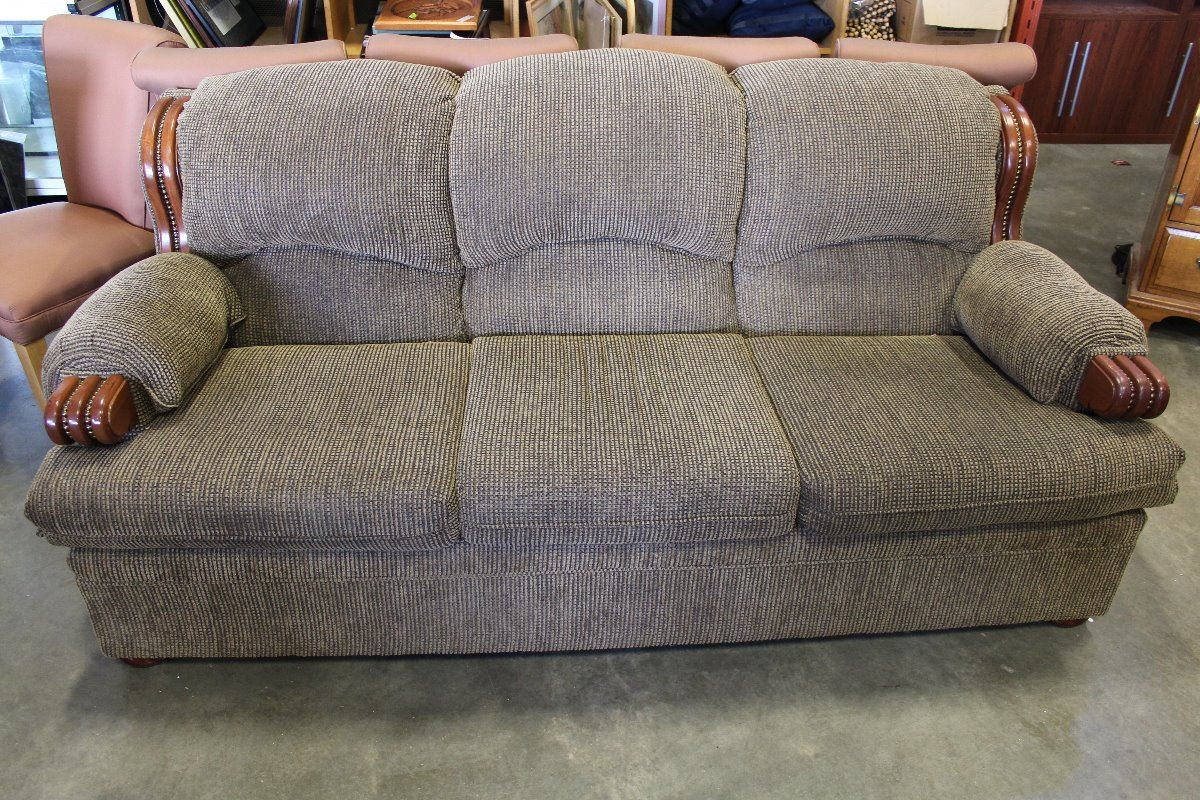 makeshift pinterest red pin products in frame loveseat maple upholstered fabric wood