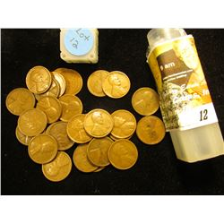 "Starter Set of Lincoln Cents in a plastic tube"" 1909 P VDB, 11P, 12P, D, 14P, 16S, 17S, 18S, 19D, S,"