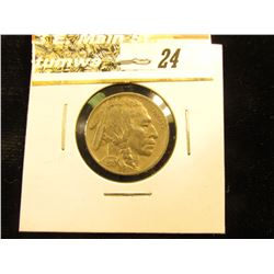 1919 S Buffalo Nickel, EF.