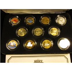 """Ultimate Nickel Collection"" with certificate of Authenticity. Contains all the designs of 2004 in f"