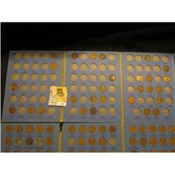 Partial Set of Lincoln Cents in two Coin Starter Whitman folders, includes 1910-40 & 41-71.