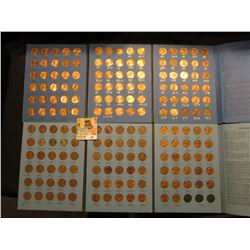 Partial Set of Lincoln Cents in two Coin Starter Whitman folders, includes 1941-74 & 75-2000.