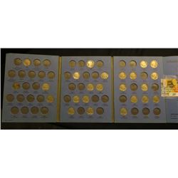 1913-37 Partial Set of Buffalo Nickels in a Whitman folder, Various grades. The 1913 P Type II is VF