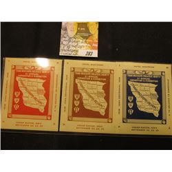 """1838 Iowa Centennial 1938 Trans Mississippi Philatelic Society 5th Annual Convention & Exhibition H"