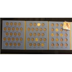 1920, 26, 28, 30, 34, 35 & 36 Buffalo Nickels in Whitman Coin Folder.