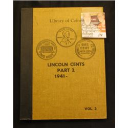 Set Lincoln Cents 1941-1961 Mostly BU in Library of Coins Album.