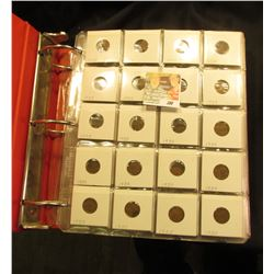 (350) 1935-1940S in 2X2 Holders, Pages in 3-Ring Notebook.
