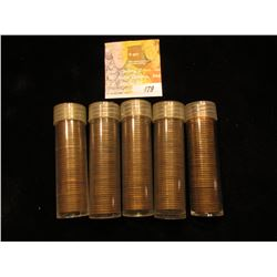 Approximately 250 U.S. Wheat Cents dating in the forties and fifties.
