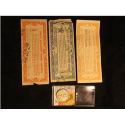 "10c, 25c, & $1 Scrip ""Poll Parrot Shoe Money"", all from Watt's Store in North Bend, Nebraska; & 1937"