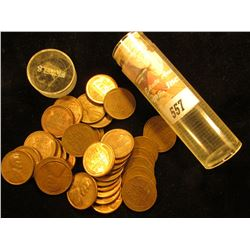 (36) 1946 D High Grade Lincoln Cents in a plastic tube.