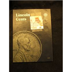 1941-74 Partial Lincoln Cent Set in a blue Whitman folder.