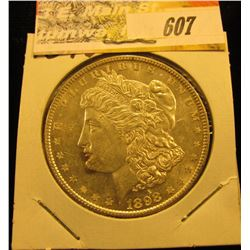 1898 P Morgan Silver Dollar, Unc.