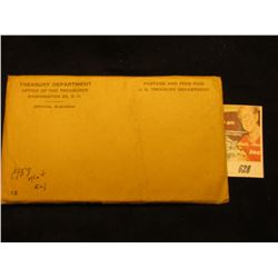 1959 US Mint Set Original as Issued. Unopened Envelope.