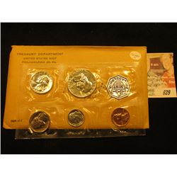 1959 US Proof Set Original as Issued. Unopened Envelope.