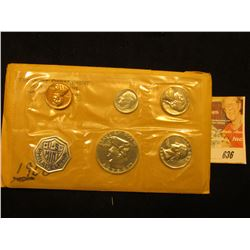 1960 US Proof Set Original as Issued.