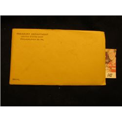 1961 US Proof Set Original as Issued.  Unopened Envelope.