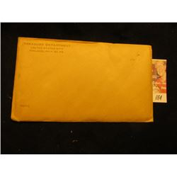 1962 US Proof Set Original as Issued.  Unopened Envelope.