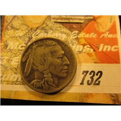 1914 Buffalo Nickel. F.