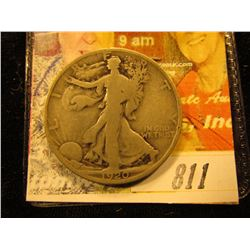 1920  Walking Liberty Half Dollar. G