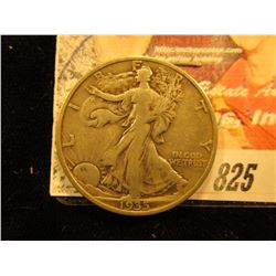 1935 S  Walking Liberty Half Dollar. F.