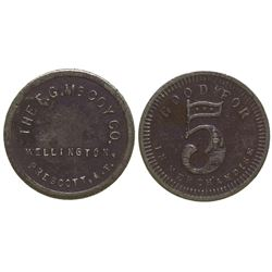 F. G. McCoy Co. Token Prescott Arizona Territory