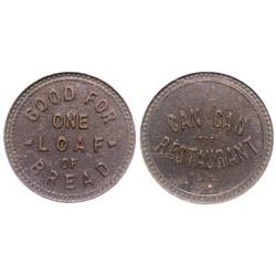 Can Can Restaurant Token Tombstone Arizona