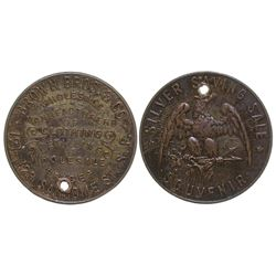 Extremely Rare Brown Bros. & Co. Token San Francisco California
