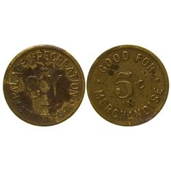 Palace of Recreation Token Summerland California