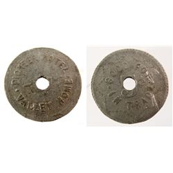 Pioneer Hotel Token (Valley Home, CA)