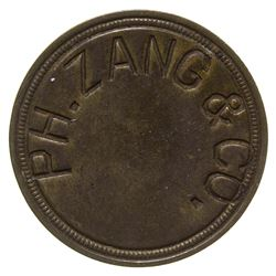 P. H. Zang & Co. Token Denver Colorado