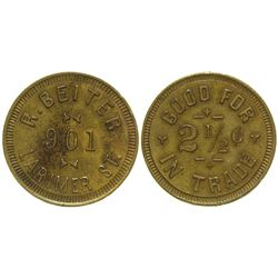 R. Beiter Token Denver Colorado