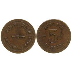 F. M. Winkler Token Louisville Colorado