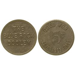 The Blue Rock Token Dooley Montana
