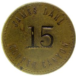 James Dahl Token Copper Canyon Nevada