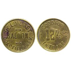 Gold Dust Saloon Token Goldfield Nevada
