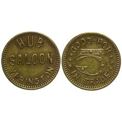 Hub Saloon Token Yerington Nevada