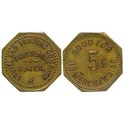 Fruitland Trading Company Token Fruitland New Mexico