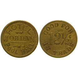 Hotel Jordan Pool Hall Token Jordan Valley Oregon