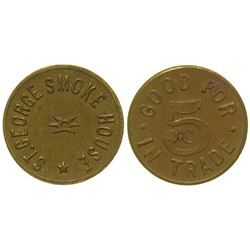 St. George Smoke House Token St. George Utah