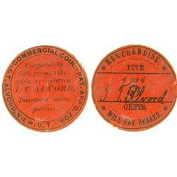 I. T. Alvord Commercial Coin View Utah