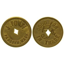 J. Ponti Token Prosser Washington